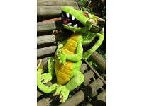 Large Green Dragon Puppet