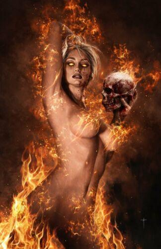 NYX #1 (2021) - CK Exclusive JAY FERGUSON Virgin Variant Cover Dynamite PRESALE