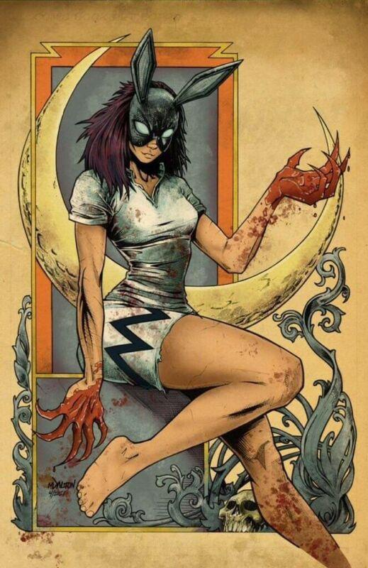 BUNNY MASK 1 MATT  DALTON Virgin Variant  AfterShock Comics  end June HOT Nr Mt+