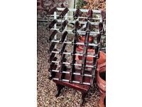 28 bottle wine rack