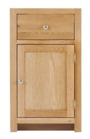 Right 1 Door 1 Drawer Cabinet with soft close drawers (SOK-004R)