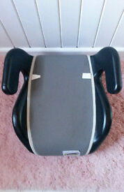 brand new child's car booster seat suitable for children aged from 4 up to 12 years old