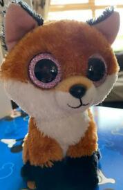 TY Slick fox soft toy