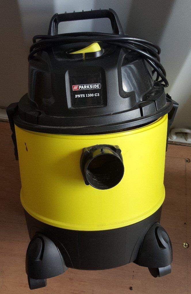 Parkside Wet Amp Dry Vacuum Cleaner Pnts 1300 C3 In