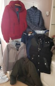 Men's Trainers, Jackets and Ski Wear