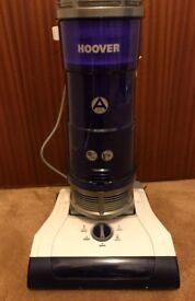 Hoover upright bag less vacuum cleaner