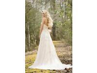 Lillian West Wedding Dress - 6461 Ivory Size 10 Brand New