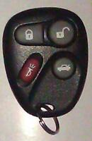 GM Corvette remote keyless entry key FOB (25695954)