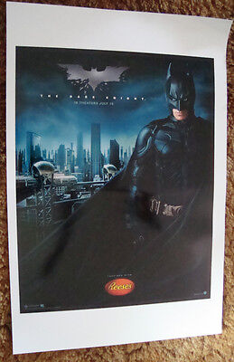 2008 Batman The Dark Knight 12x18 Small Scale Poster Protective Uv Coated