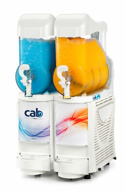 Faby Skyline 2 Granita Margarita Slush Machine - White