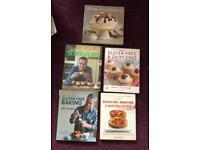 Gluten free cook books £2 each