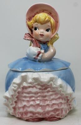 Lefton Bloomer Girl Cookie Jar