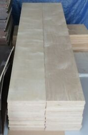 25 pieces of NEW 18mm B/BB Grade Premium Quality Russian Birch Plywood 8ft x 11in (2440mm x 280mm)