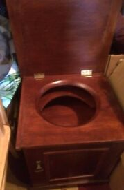 early 20th century box commode