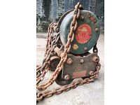 Heavy duty lifting chain / Crain system, 1 Ton Load quick sale