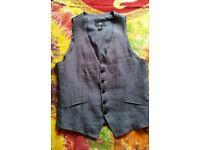 3 male waistcoats size UK 38, EUR 48, 1 blazer size 40R