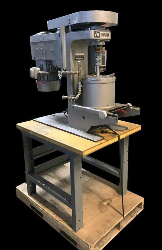 Union Process Szegvari Attritor System Grinding Mill Type B Size 1S