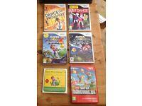 Wii Games Super Mario Bros., Super Mario Galaxy & Galaxy 2 + more
