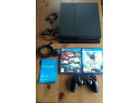 Sony Playstation 4 1TB - PS4 1TB Console, Controller and 2 Games - As New!!!