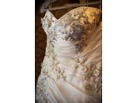 Beautiful Kay Mason Wedding Gown - Size 12/14.