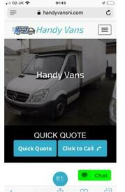 Man and Van Hire, Removal Services. Home and Office Clearance, Man with a Van