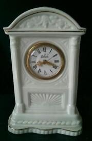 Belleek mantel clock