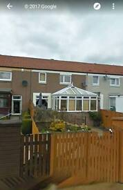3 Bedroom terrace house for lease