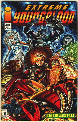 EXTREME YOUNGBLOOD 7 IMAGE STAR COMICS 1995 GIOCHI MENT