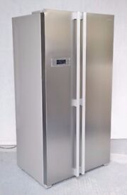 Brand New Kenwood KSBSX17 Tall American Style Fridge Freezer - Brushed Silver - RRP£499