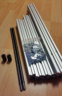 3d Printer Frame Kit M5 Mendelmax 1.5 100 Nuts M5 Trapezoidal Screw Tr10x2 - 5