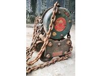 Heavy duty lifting chain / Crain system, 1 Ton Load for sale