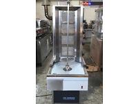 2 x CANMAC 4 Burner Doner Kebab Machine NATURAL GAS