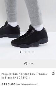 Air Jordan's horizon low trainers in black