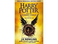 REDUCED 2 x tickets Harry Potter and the Cursed Child (Part 1 & 2)