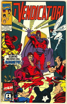 I VENDICATORI 6 MARVEL 1994 SCONTRO DECISIVO MAGNETO