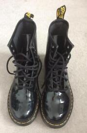 Doctor Martin painted boots new