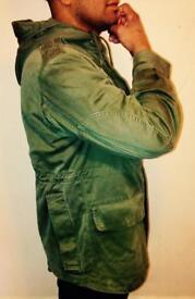 1980 Belgium Army tank jacket