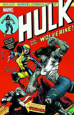 HULK 1 VOL 4 WOLVERINE MGA McGUINNESS COLOR 181 HOMAGE VARIANT NM DAIGHTER X-23