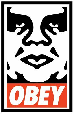 OBEY ICON   SIGNED LITHOGRAPH   OBEY   FAIREY
