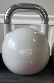 2 x 4kg Kettlebell (pair) NEW Gym Training Fitness Crossfit Weights