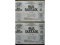 Paul Carrack + support. Concert tickets in Wolverhampton