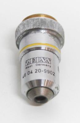 Zeiss Neofluar 10x 030 160- Microscope Objective 46 04 20-9902 5918