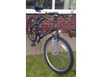 RALEIGH ACTIVATOR GENTS 15 SPEED MOUNTAIN BIKE FULL SUSPENSION