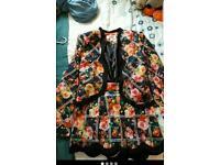 Paper dolls boutique size 12 shorts and blazer suit