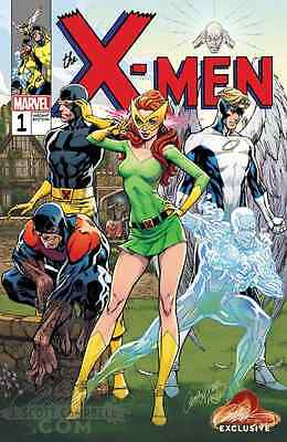 X-MEN BLUE 1 J SCOTT CAMPBELL RETRO VARIANT B NM