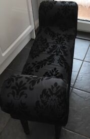 End of bed bench/window seat/footstool
