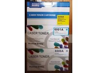 Replacement HP Toners - 3 Three New and Unused Sealed in boxes.