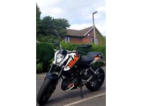 Ktm duke 125cc abs 2016 15bhp learner legal (not sxf excf sx or sxf)
