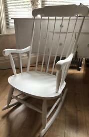 Shabby Chic Vintage Ricking Chair