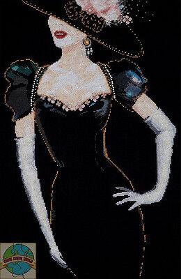 Cross Stitch Kit ~ Design Works Early 1900s Woman w/Elegant Dress #DW2783